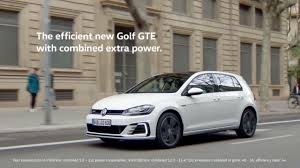 new volkswagen car volkswagen golf gte review a bargain hybrid with brisk