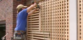 wood lattice wall constructing lattice for the kuppersmith project house today s
