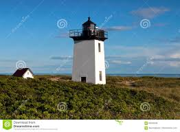 provincetown lighthouse at tip of cape cod stock photo image