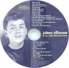 cd album johnny tillotson 25 all time greatest hits varèse