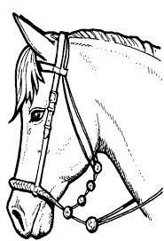 pictures to colour horses