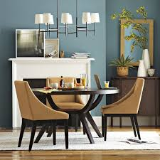 Pedestal Tables And Chairs Arc Base Pedestal Table West Elm