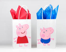 peppa pig birthday peppa pig inspired birthday banner peppa pig birthday