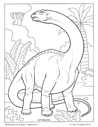 quality printable apatosaurus dinosaurus coloring books