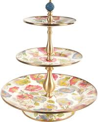 mackenzie childs l deal alert mackenzie childs morning glory cake stand three tier