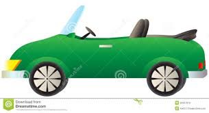 cartoon convertible car green cabriolet car stock vector illustration of rent 34297819