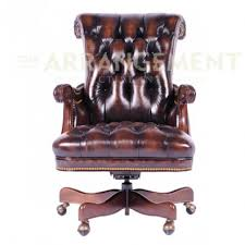 tufted leather desk chair bronco leather desk chair dark distressed tufted leather is