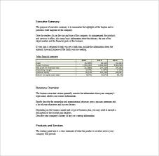 simple business plan template u2013 14 free word excel pdf format