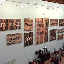 wood word wall art shenra com