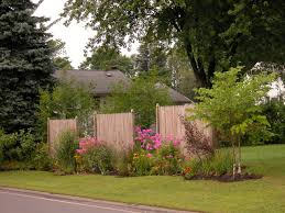 Backyard Trees Landscaping Ideas Backyard Privacy Fencing Ideas Home Outdoor Decoration