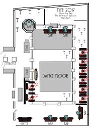 mcg floor plan the social connection motor city gala 2017
