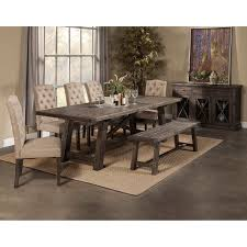 upholstered dining room sets alpine newberry extension dining table hayneedle