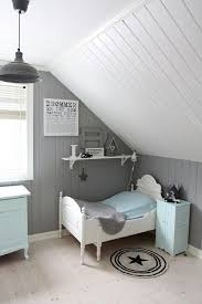 Cape Cod Bedroom With Gray And White Paneling Light Blue Accents - Cape cod bedroom ideas