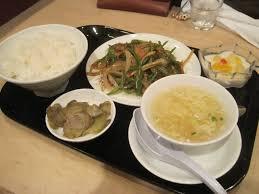 chinese dinner set tasty niigata