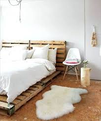 Pallet Platform Bed Pallet Furniture Bed Wooden Pallet Platform Bed Diy Pallet Bed