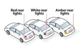 use of amber lights on vehicles ch 6 lights signals jersey safe roads