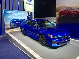 subaru wrx custom the 2018 subaru wrx sti is thankfully more of the same