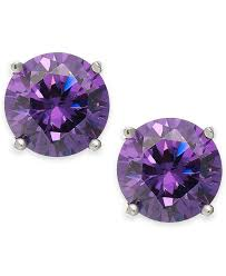 purple stud earrings best purple stud earrings photos 2017 blue maize