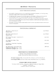 Resume Sample Introduction by Free Examples Of Resumes Template