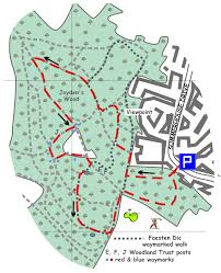 B15 Bus Route Map by Kent Ramblers Walk 59