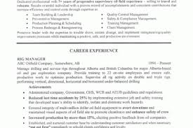 Resume Examples For Oil Field Job by Oil Rig Manager Resume Sample 2 Resume Oil And Gas Jobs Pictures