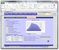 Retirement Calculator Excel Spreadsheet Simpleplanning Retirement Calculator U0026 Planner Download