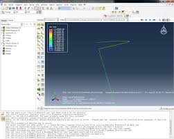 abaqus users buckling of a column using 3d beam elements