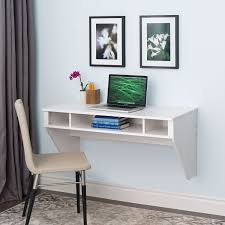 Space Saving Laptop Desk White Space Saving Laptop Tablet Computer Desk Wall Mount At Any