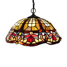 tiffany glass pendant lights shop chloe lighting victorian 16 in bronze tiffany style single