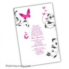 invitaciones para quinceanera invitaciones para quince anos con mariposas en caja invitaciones