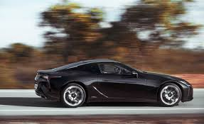 lexus black 2018 lexus lc 500h black side view gallery photo 48 of 84