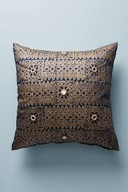 gold decorative throw pillows for couches beds anthropologie