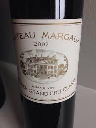 chateau margaux i will drink 2007 château margaux bordeaux médoc margaux cellartracker