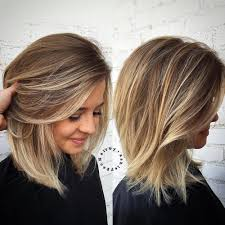 cute shoulder length haircuts longer in front and shorter in back 80 sensational medium length haircuts for thick hair medium