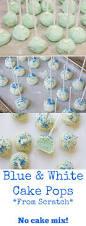 baby blue cake pops u0026 a virtual baby shower