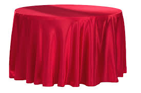 120 round tablecloth fits what size table satin 120 round tablecloth apple red cv linens
