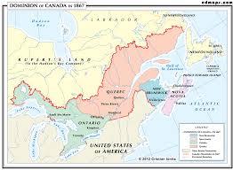Halifax Canada Map by Canada 1867