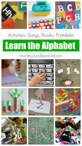 27 awesome ways to teach the alphabet the alphabet alphabet and