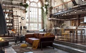 Schlafzimmer Im Loft Einrichten Old Loft With Industrial Jpg 1 200 750 Pixeles