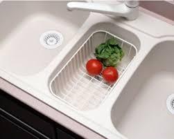 Swanstone Kitchen Sink Reviews by Swanstone Wb 22 Small Kitchen Sink Wire Basket White