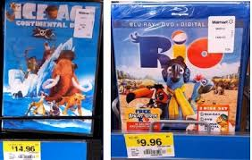 walmart great deals on ice age dvd u0026 rio blu ray movies with new