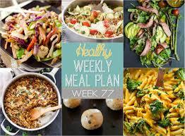 plan it cuisine healthy weekly meal plan 77 healthy easy