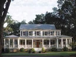colonial farmhouse plans colonial plantation farmhouse house plan building our