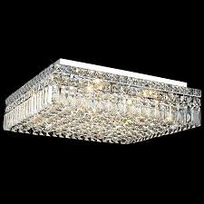 Crystal Flush Mount Ceiling Light Fixture by Lighting 2032f20c Ec Crystal Maxime Square Flush Mount Ceiling Fixture
