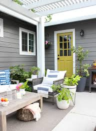 House Patio Summer In Style Outdoor Edition Garden Patio U2014 Chic Little House