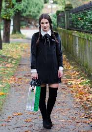 wednesday addams halloween costume spooky halloween hostess gifts u0026 the easiest costume ever u2014 me and