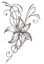 pencil sketch of flower design drawing of sketch