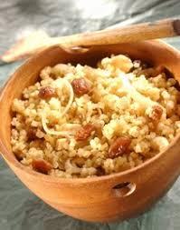 recette d駛euner au bureau recette de blé concassé boulgour aux raisins secs recettes à
