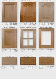 Replacement Wooden Kitchen Cabinet Doors Red Oak Wood Dark Roast Glass Panel Door Replacement Doors For
