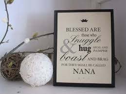 gifts for grandmothers grandmother typography quote personalized gift for nana 28 50